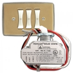 Old Low Voltage Lighting System Switches Relays Wall