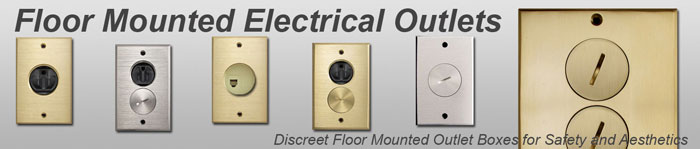 Electrical Outlets Floor Mounted Electrical Outlets