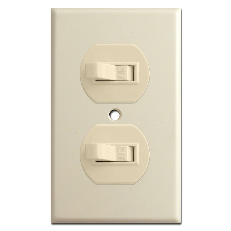 Light Switch Plate Outlet Cover Decora Rocker Size Chart