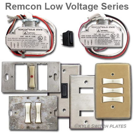 instrument in the late 40 s the original remcon low voltage switching