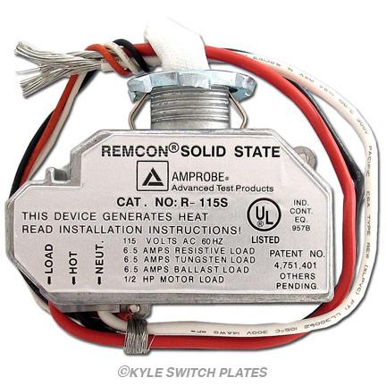 Remcon Low Voltage Relay