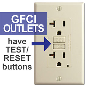 Electrical outlet types 15a 20a tl gfci afci round square gfci stands for ground fault circuit interrupter this type of receptacle reduced the risk of electric shock by shutting off power if it detects that the sciox Image collections