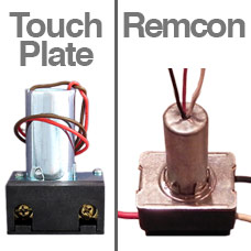 Verify Relays are Touchplate Brand