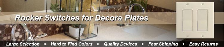 Decora Rocker Light Switches