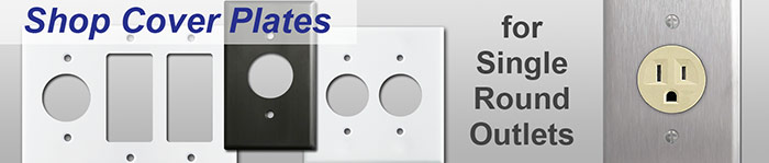 Round Outlets & Single Receptacles